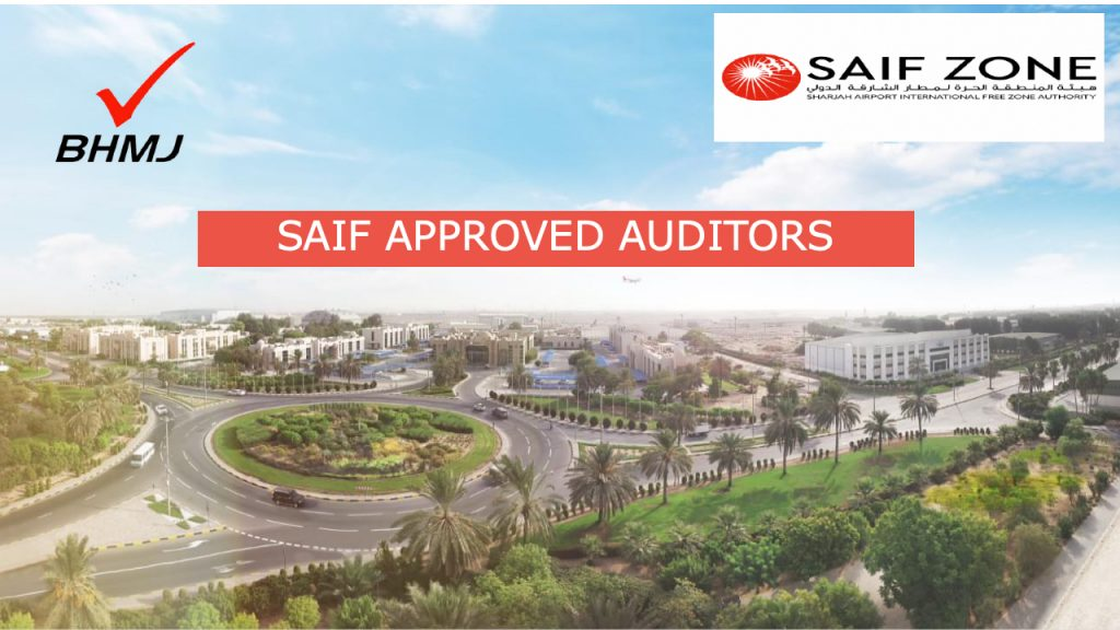 SAIF Approved Auditors Sharjah Airport Free Zone